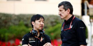 Günther Steiner, Ayao Komatsu, Haas, racingline, racinglinehu, racingline, racinglinehu, racingline.hu