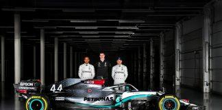 Mercedes-AMG F1 W11, Valtteri Bottas, Toto Wolff, Lewis Hamilton