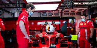 Ferrari, szájmaszk