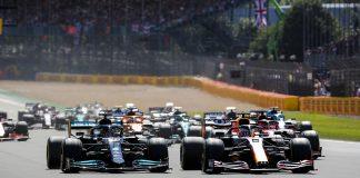 Brit Nagydíj, rajt, mercedes, sprintkvalifikáció